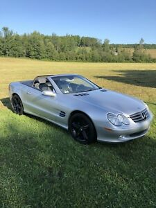 Mercedes benz SL500 convertible
