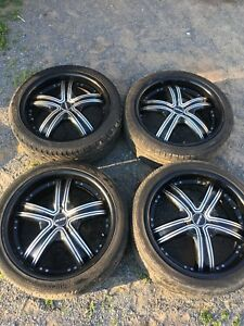 18 Inch MKW Rims $300