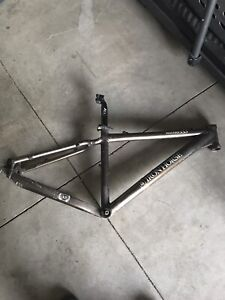 Iron horse bike frame