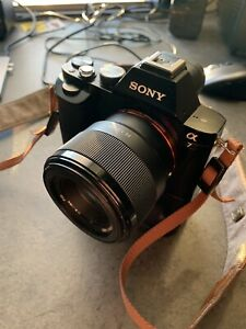 Sony A7 with lenses and accessories