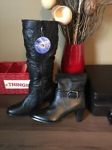 Brand new high boots