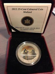RCM - 2013 Mallard - Coloured coin