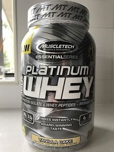 Muscletech Platinum Whey - Vanilla Cake Castle Hill The Hills District Preview