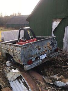 Mazda box trailer