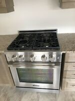 Gas stove dishwasher washer dryer fridge microwave installation
