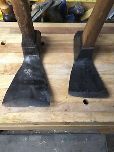 VINTAGE AXES, ADZE, DRAWKNIFE, HAMMER, CHISEL AND MORE!