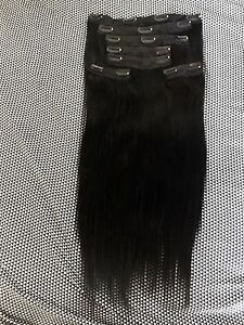BLACK %100 REMY HAIR EXTENSIONS