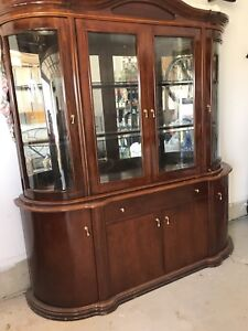Italian dining room buffet and hutch