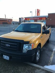 2009 FORD.  F 150 LX   8 ft. Box