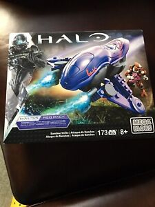 Mega Bloks HALO BANSHEE STRIKE CNG65 173 pcs. 8+ New Sealed
