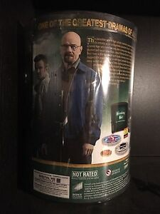 Breaking Bad The Complete Series Barrel Set Blu Ray Brand New