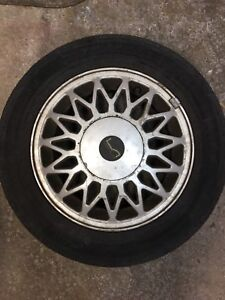 4 Tires MotoMaster on Mag Rims /set of 4