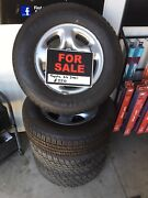 Toyota Steel Rims   X2 Brand New Tyers One Tree Hill Playford Area Preview