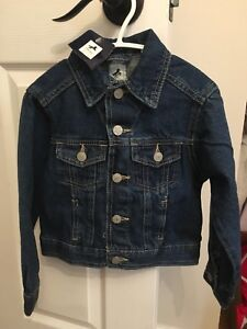 Brand new with tags unisex jean jacket size 3T-4T kids
