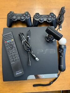 PS3 120GB Console, 55+ games, accessories
