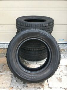 "Set of 4 used 17"" Pirelli Scorpion Ice & Snow tires"