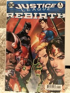 Justice League Rebirth Regular Cover One Shot #1