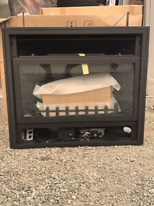 Natural gas fire place can be converted to propane