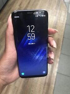 SAMSUNG S8 almost new only $570