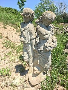 Cement Garden Statues Diffe Sizes