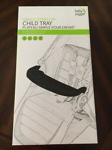 Baby Jogger stroller tray attachment