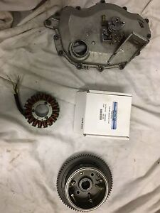 Sea doo 951 stator , cover and oil pump