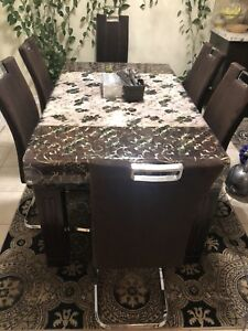 6pc Marble Dining Set for Sale in Great Condition!!!!
