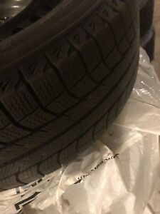 Michelin snow tires from 2006 Honda Odyssey