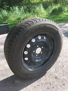 Winter Tires 215 60R 16 - used 3 month only