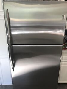 Stainless GE Profile Fridge