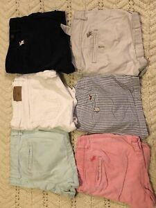 Various Abercrombie and Fitch and Hollister clothes