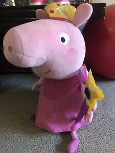 Large Peppa pig plush