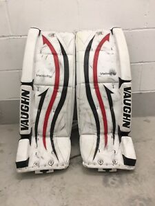 Vaughn hockey goalie pads 32+1.5