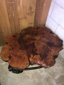Beautiful Burl Coffee table set