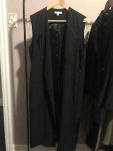 H-Halston Vest Blazer.  Size S/P