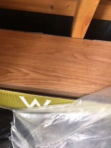 3 boxes of flooring $40
