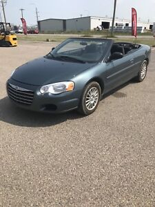 2005 Chrysler sebring convertible low low kms only 66Kms REDUCED