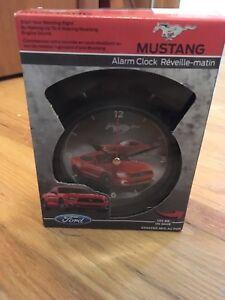 Brand new Mustang alarm clock