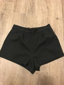 Forever 21 high waisted black shorts XS