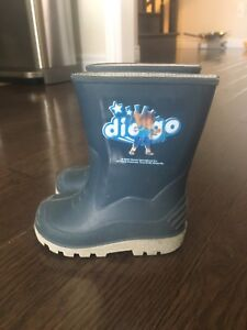 Diego rubber boots toddler size 6