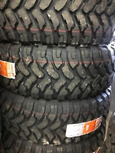 33x12.50R20 Mud Tires and 35x12.50R17 mud tires