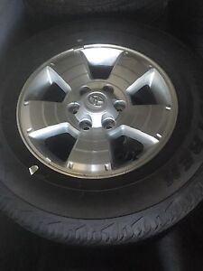 2016 Toyota Tacoma rims and tires. NEW