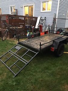 Great trailer great price first one with 400 takes it!
