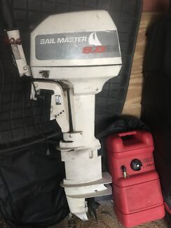 Outboard Johnson 8hp extra long shaft