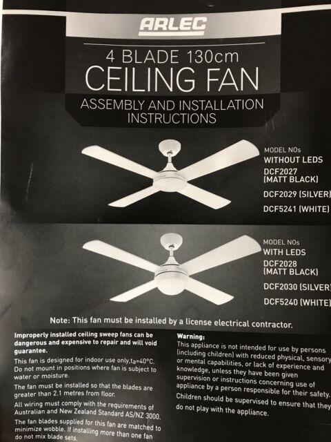 Ceiling Fan Arlec Other Appliances Gumtree Australia Inner