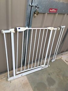 child's safety gate +extension Clearview Port Adelaide Area Preview