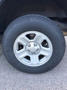 Goodyear 2016 Jeep Wrangler ST set (tires with Rims)
