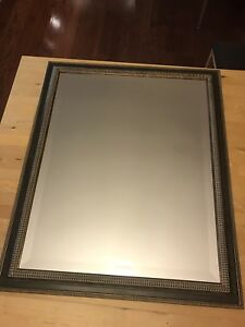 "Beautiful 35x28"" mirror - excellent condition"