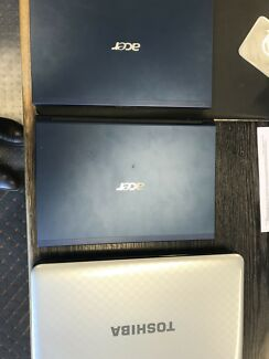 Acer Aspire 3830 x 2 and Toshiba Satellite L750 x 1