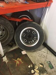 Rally wheels for chev